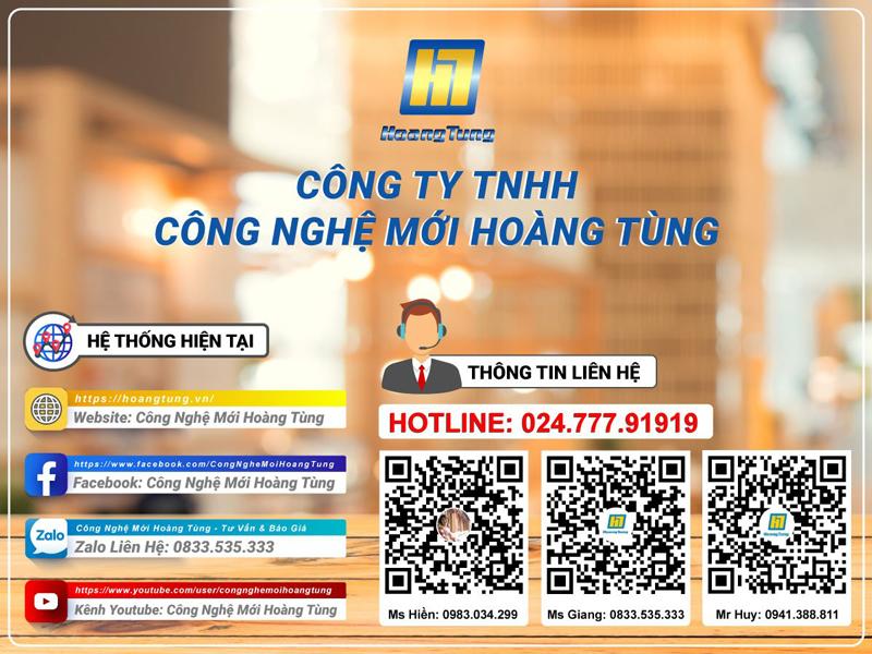 Thông tin liên hệ Hoàng Tùng